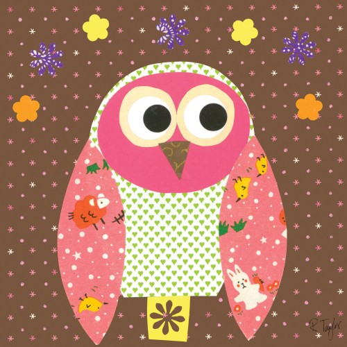 Cute Owl Painting