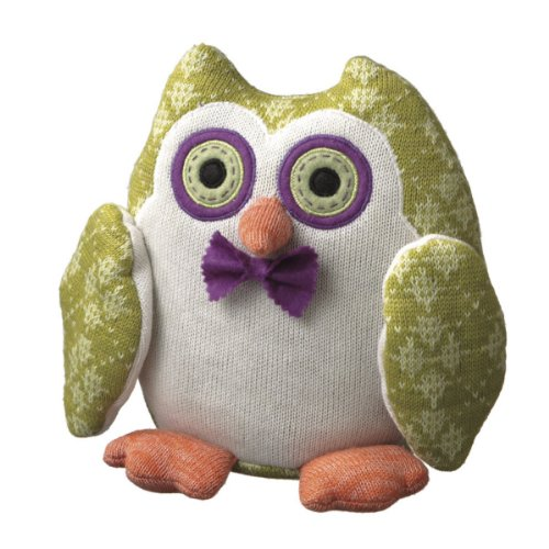 Plush Stuffed Knit Owls