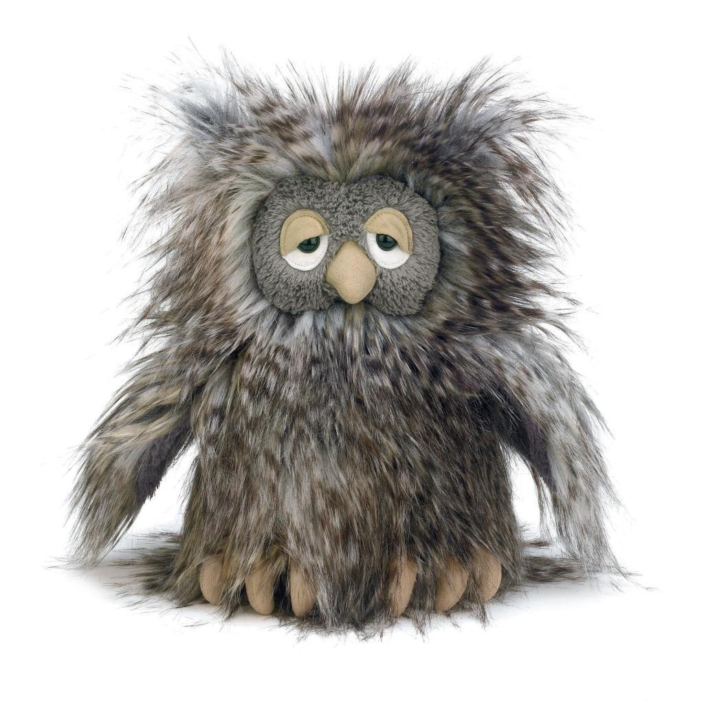 fuzzy plush owl