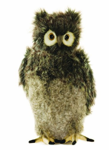 realistic plush owl