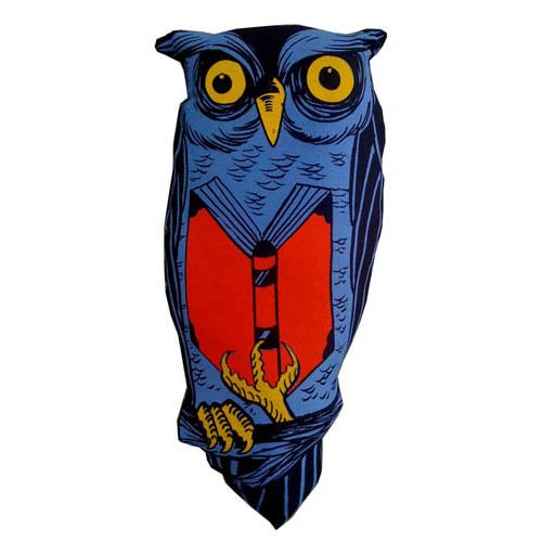 Retro Plush Owl