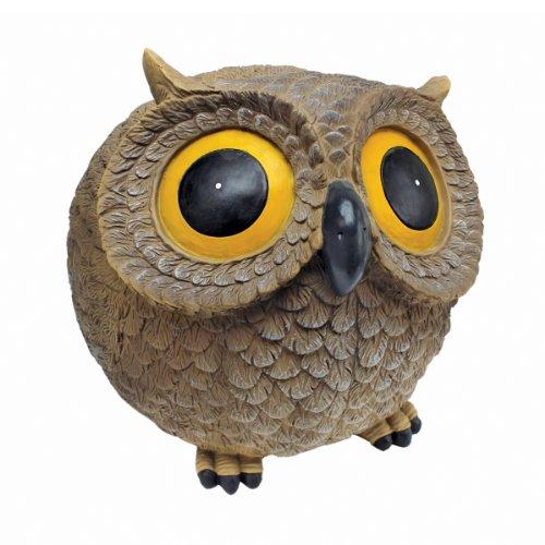 funny owl statue
