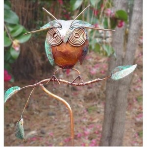 Owl Garden Sculpture