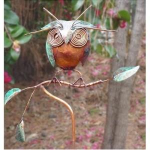 Owl Garden Sculpture