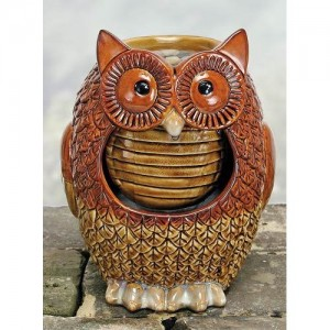 Owl Water Fountain