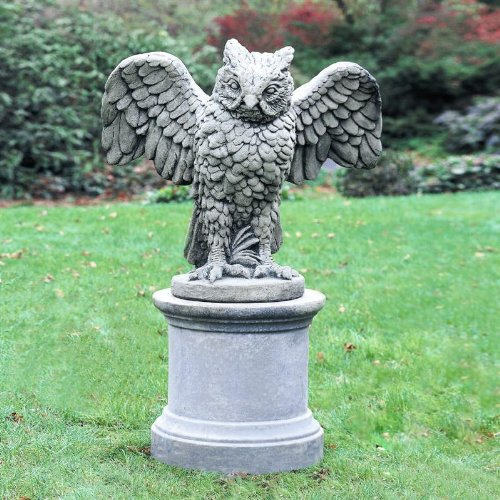 High Quality Soaring Owl Garden Statue