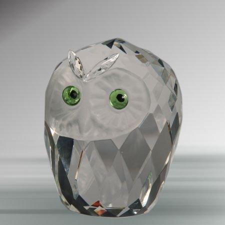 Crystal Owl Head