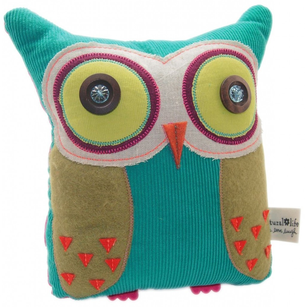 cute owl shape pillow