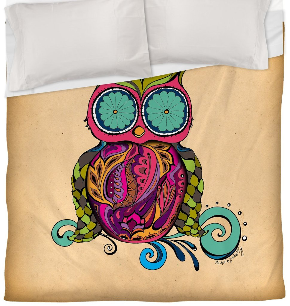 Owl Duvet Cover, King