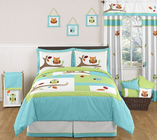 owl bedding for kids