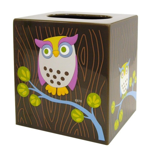 owl tissue box