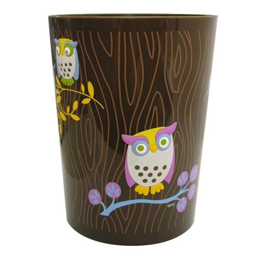 cute owl wastebasket
