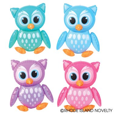 cute inflatable owls
