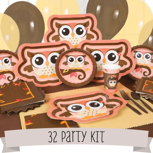 owl party kits