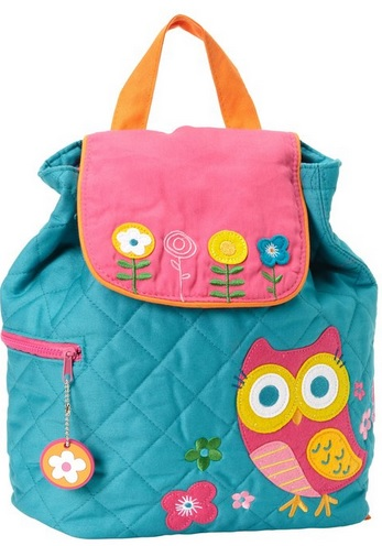 cotton owl backpack for children