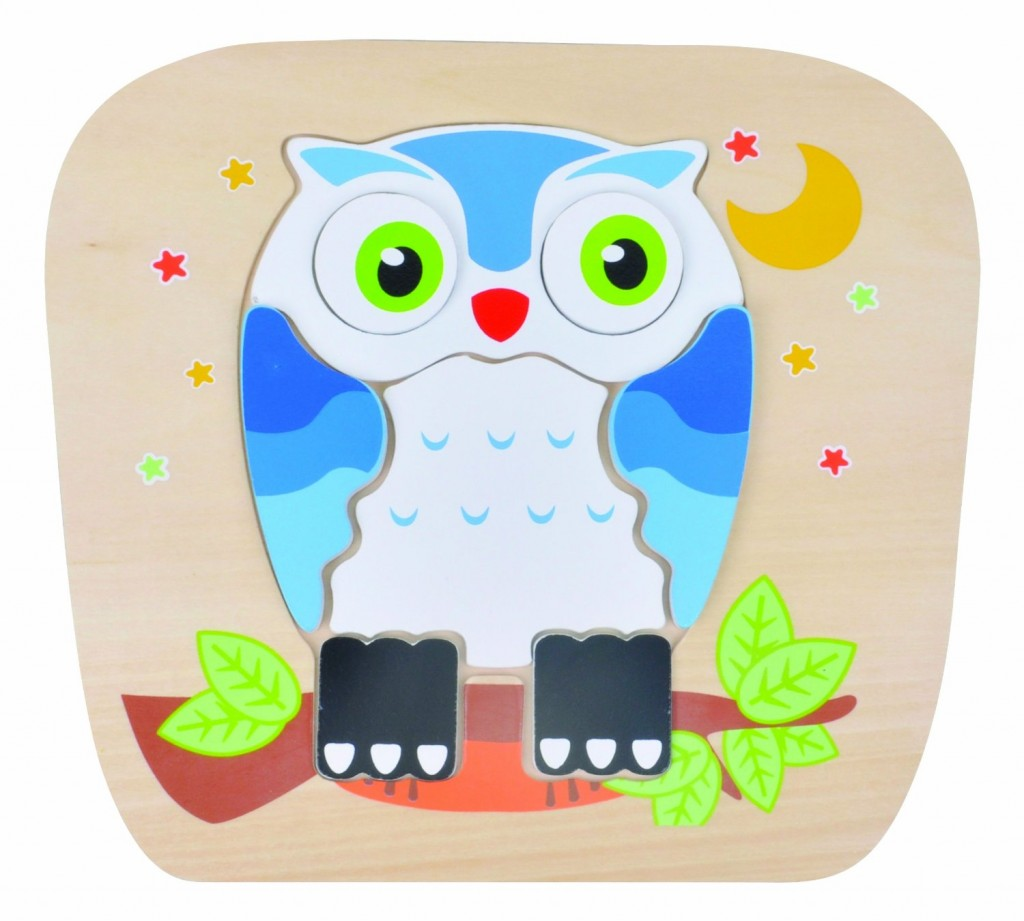 cute owl puzzles for kids