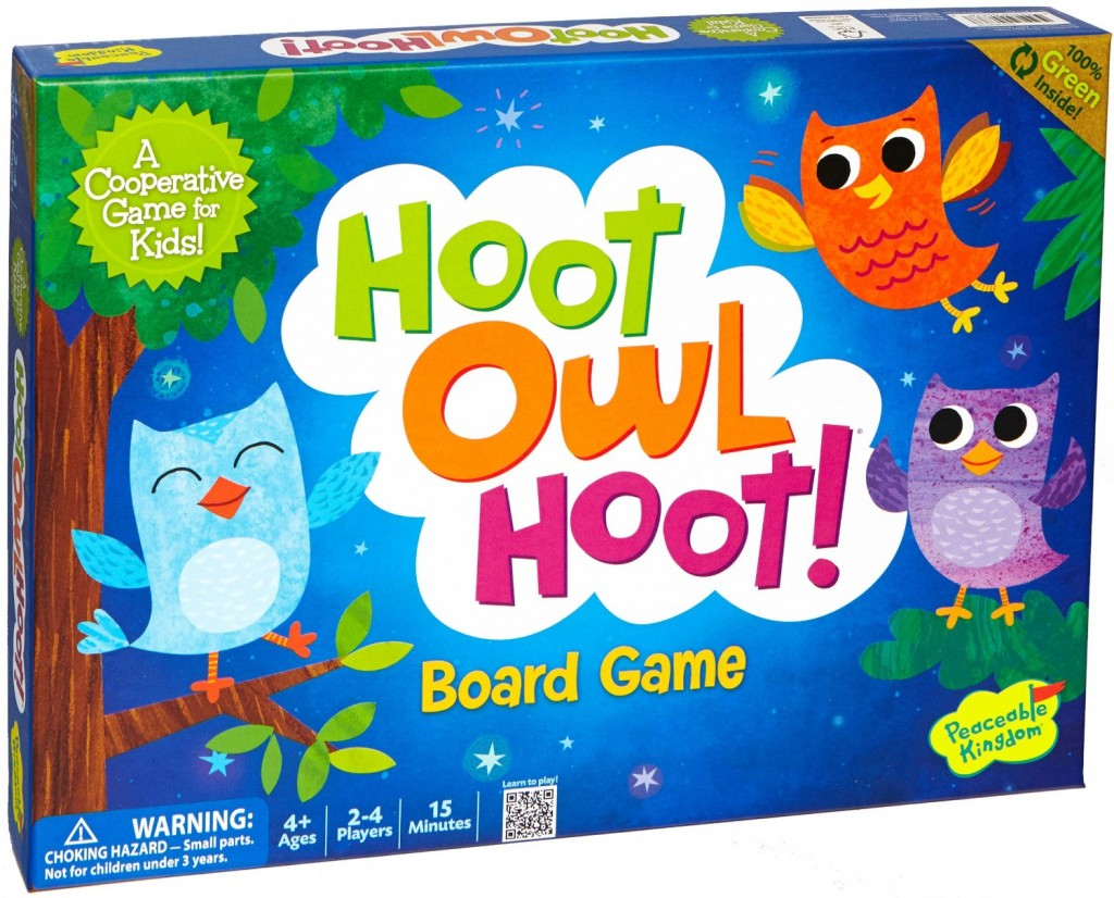 OWL Board Game for Kids