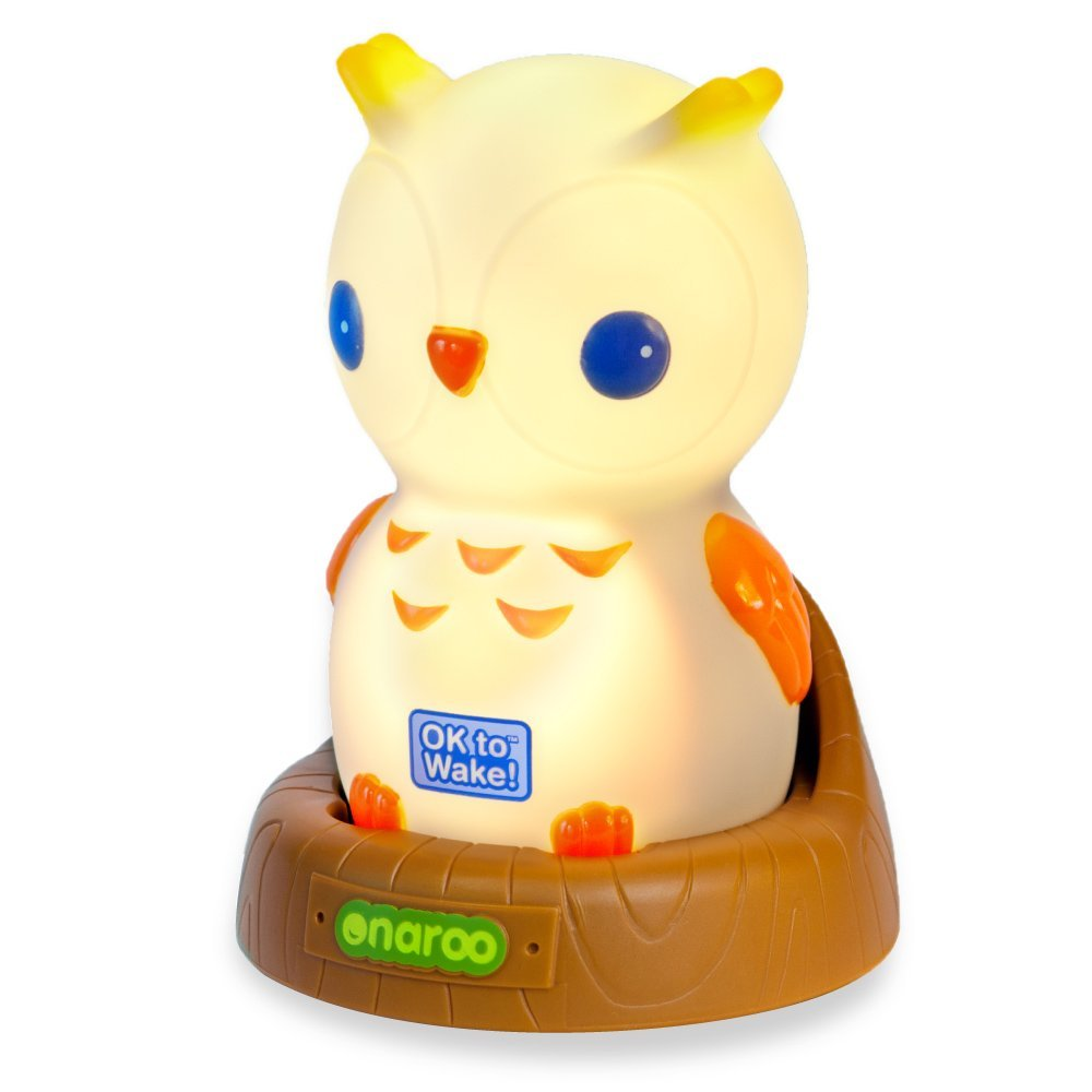 Adorable Owl Shaped Portable Night-Light for Children