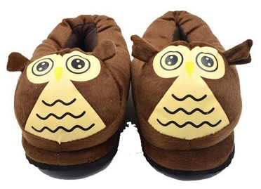fun owl slippers for adults