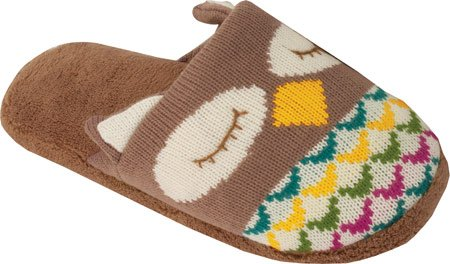 sleeping owl Women's Knitted Slippers