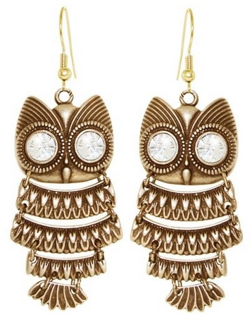 Cheap Owl Earrings