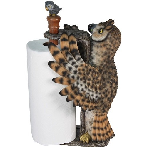 Cool Owl Paper Towel Holder