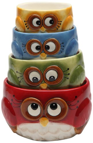 cute owl Measuring Cup Set