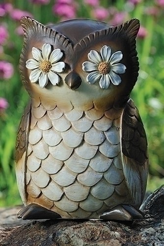 Cute Owl Garden Statues