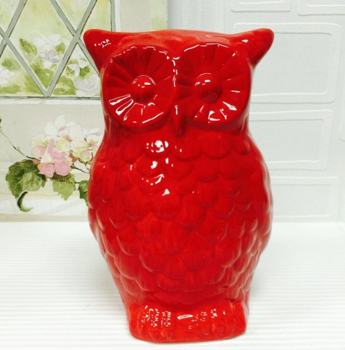 Colorful Ceramic Owl Piggy Banks