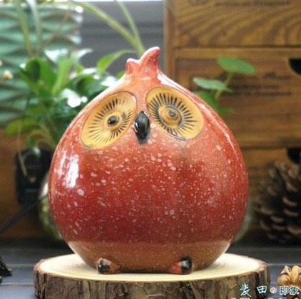 Unique Owl Shape Piggy Bank