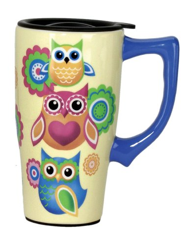 Fun Owls Travel Mug