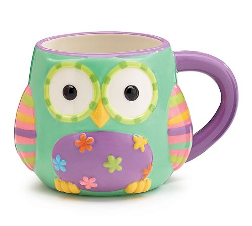Owl Coffee Mug with Gift Box
