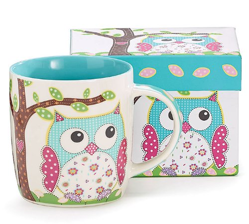 Adorable Owl Coffee Mugs