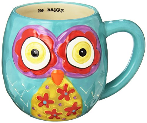Cute and Colorful Owl Mug