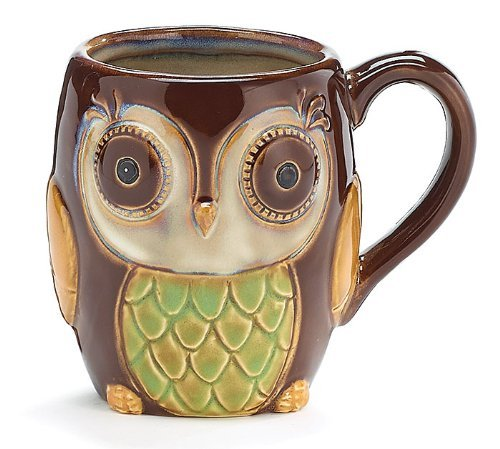 cute owl coffee mugs for sale