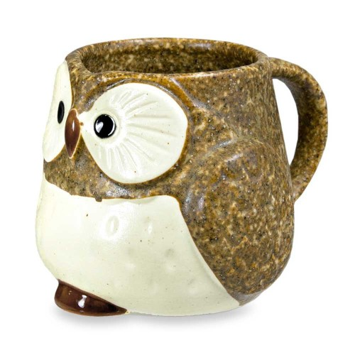 cute ceramic owl mugs