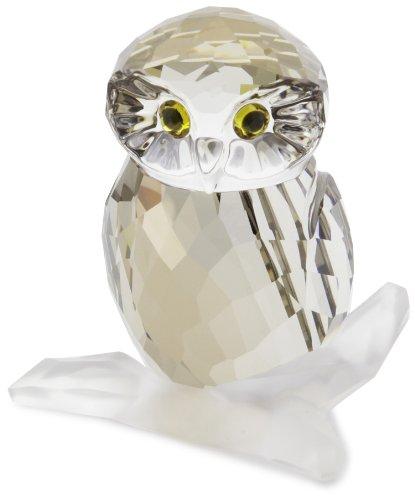 Fine Swarovski Crystal Owl Figurine