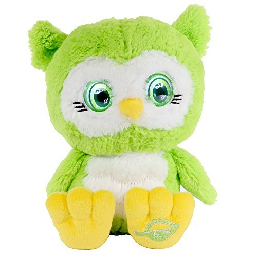 Bright Eyes Pets - Breeze, the Green Owl