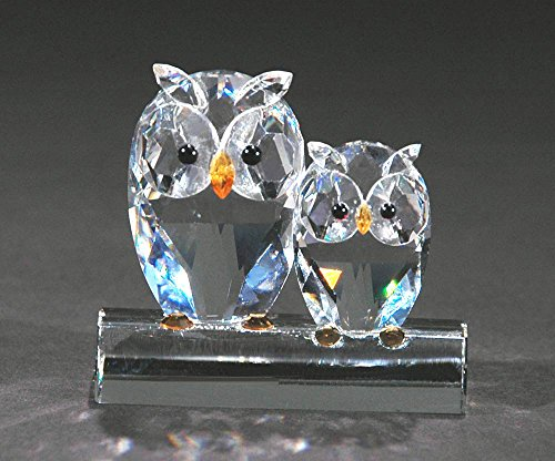 Adorable Miniature Crystal Owls