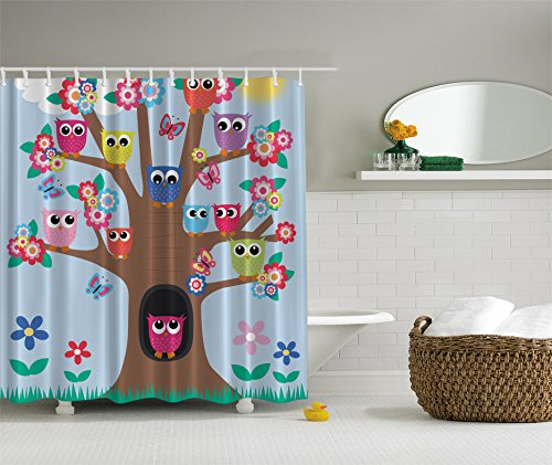 Cute Owl Bathroom