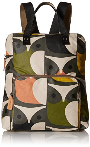 Big Owl Print Tote Backpack