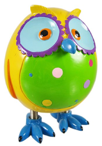 Cutest Yellow Owl Piggy Bank