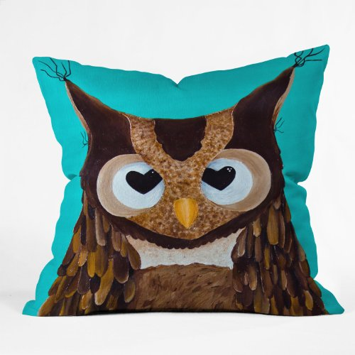 Owl Love You Throw Pillow