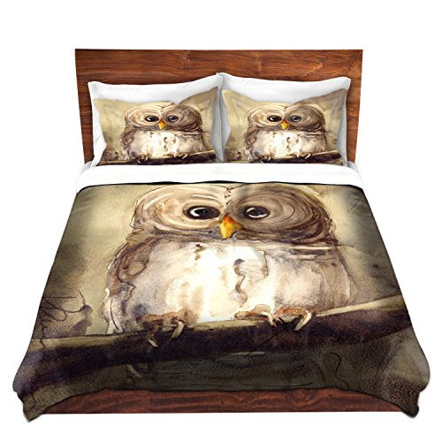 Unique Soft Brushed Twill Cottage Owl Bedding