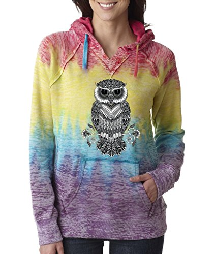 Pretty Owl Hoodies for Women
