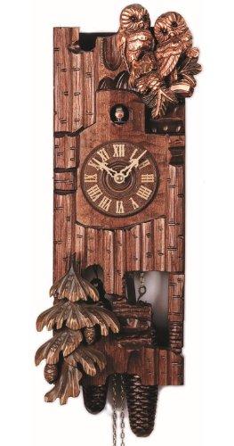 Wood Owls Cuckoo Clock