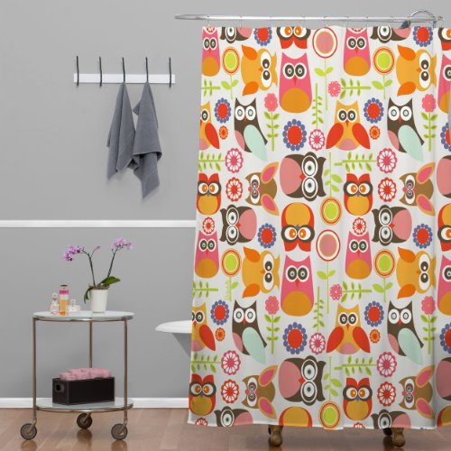 Cute Owls Shower Curtain